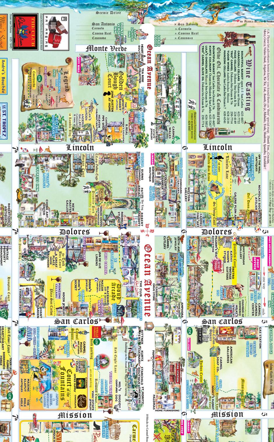 Location Map carmelsquarecom